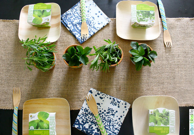 Earth Day Party Tablescape