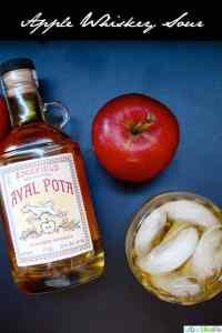 Apple Whiskey Sour UrbanBlissLife.com