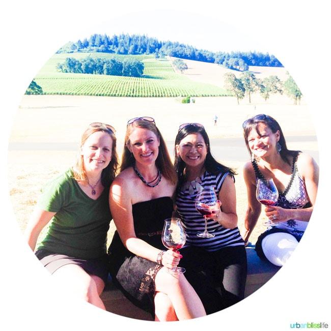 Girls Wine Tasting Oregon Wineries