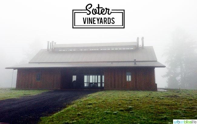 Soter Vineyards Oregon winery