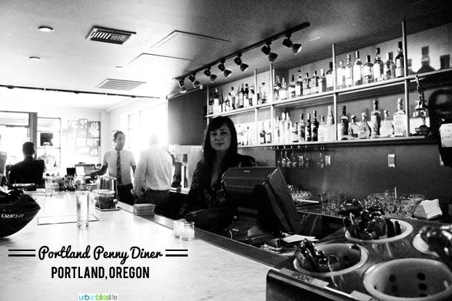 Portland Penny Diner happy hour Portland Oregon | UrbanBlissLife.com