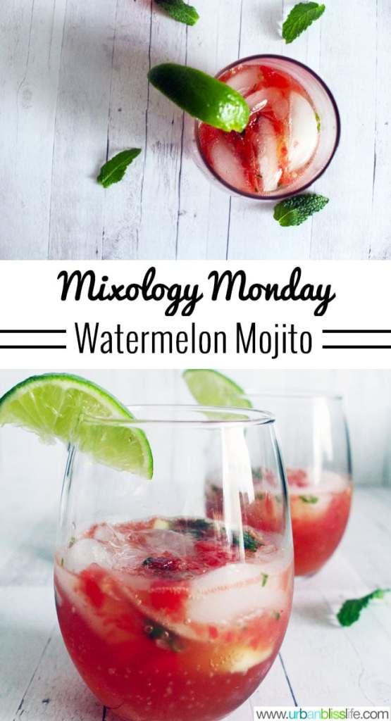 Mixology Monday: Watermelon Mojito