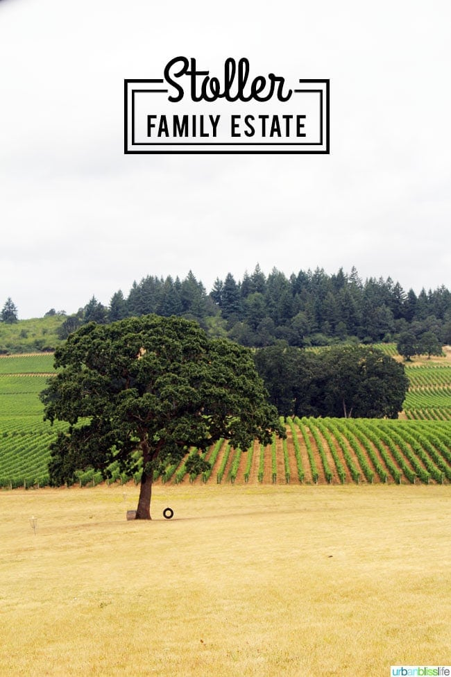 Stoller Family Estate Vineyard & Winery on UrbanBlissLife.com
