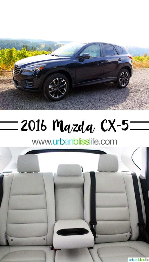 Drive Bliss: 2016 Mazda CX-5 Grand Touring AWD Car Review