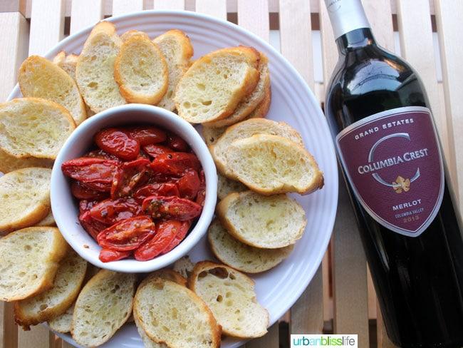 Top holiday wines: Columbia Crest Merlot on UrbanBlissLife.com