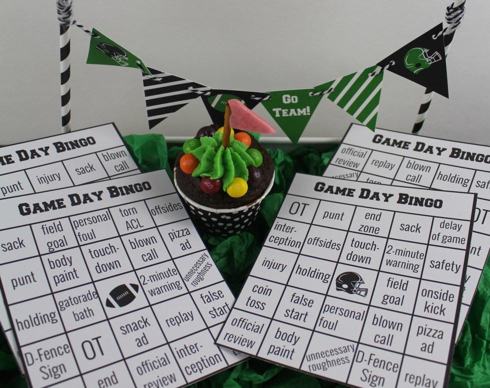 Football Bingo on UrbanBlissLife.com
