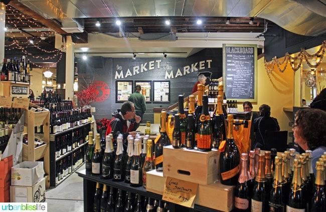 Provisions Market Hall Eugene, Oregon on UrbanBlissLife.com