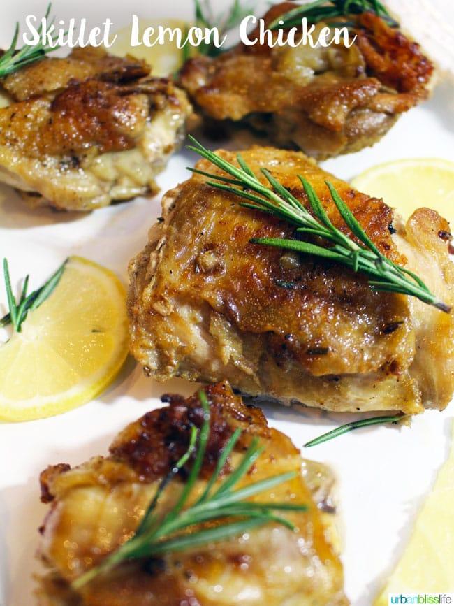 Food Bliss: Skillet Lemon Chicken
