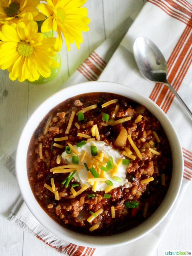 Food Bliss: Hearty Chili with Stout and Farro