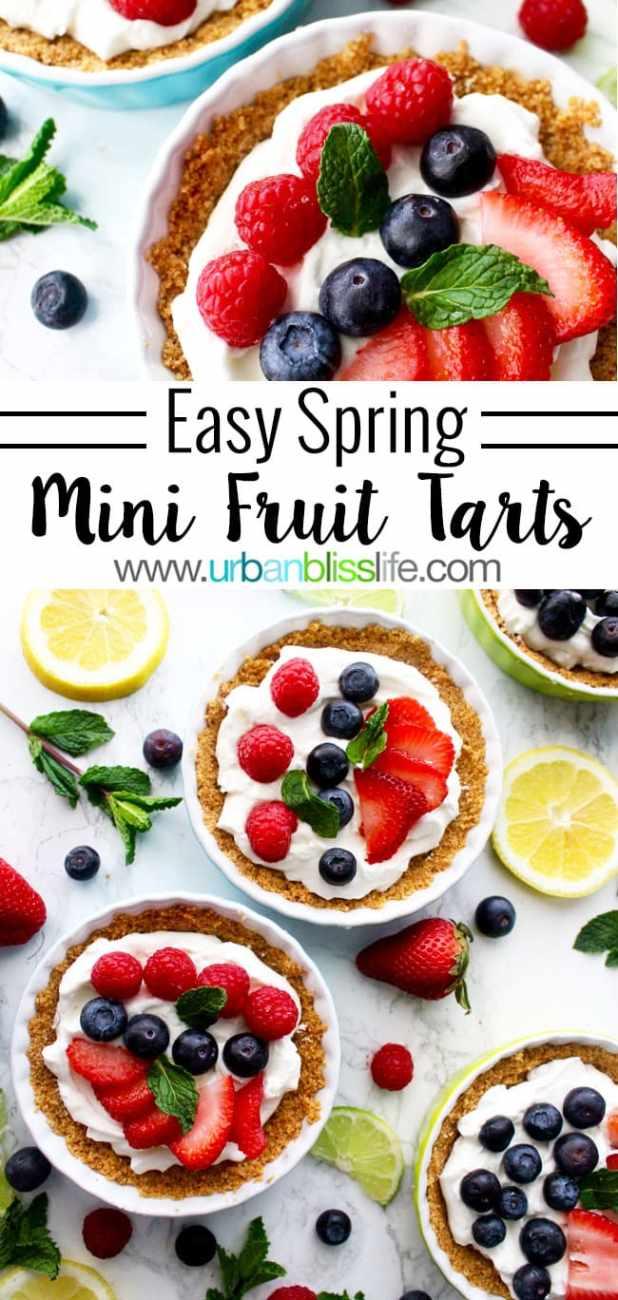 Food Bliss: Easy Spring Mini Fruit Tarts