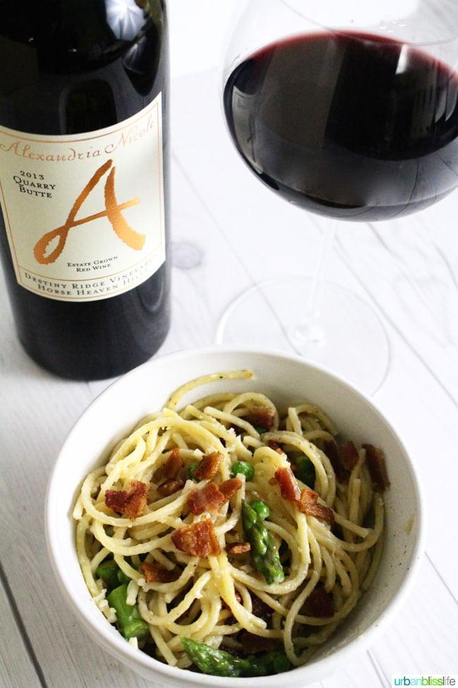 Alexandria Nicole red wine