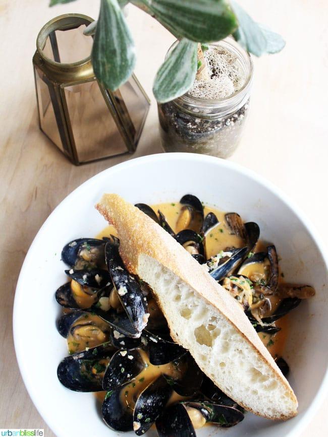 Mussels at St Jack Restaurant and Bar in Portland, Oregon, on UrbanBlissLife.com