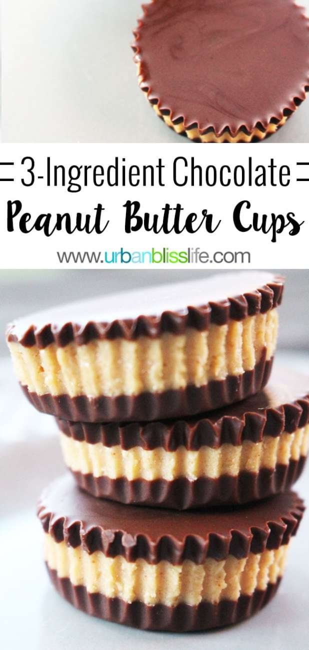 Food Bliss: Easy Homemade Chocolate Peanut Butter Cups