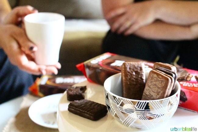 friendsgiving  a morning coffee break with friends