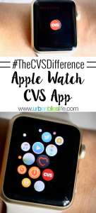CVS Pharmacy is now in Target stores nationwide and the app has Apple Watch integration! More on UrbanBlissLife.com