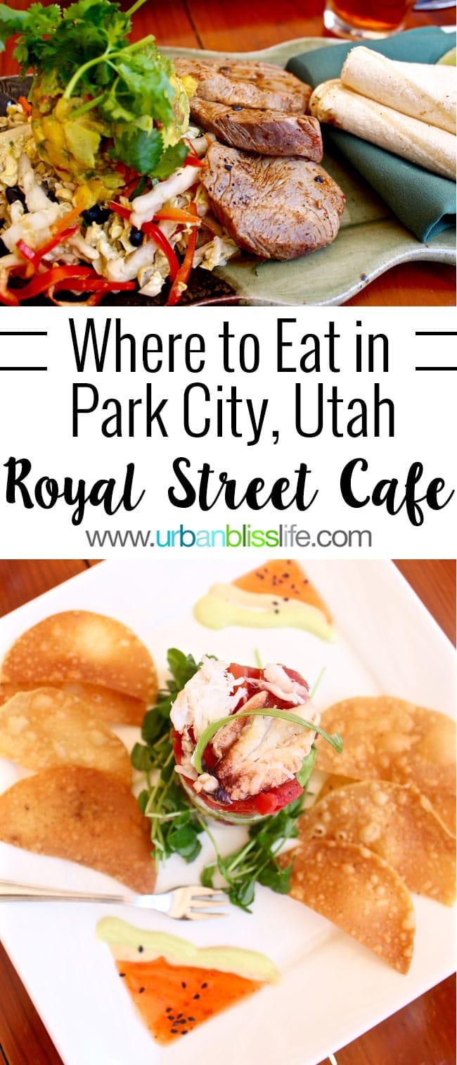 Royal Street Cafe Park City Utah