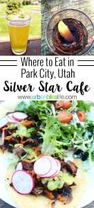 Silver Star Cafe serves casual, delicious breakfast, lunch, and dinner with easy access to ski lifts, hiking trails, and mountain biking trails in Park City, Utah. Full restaurant review on UrbanBlissLife.com