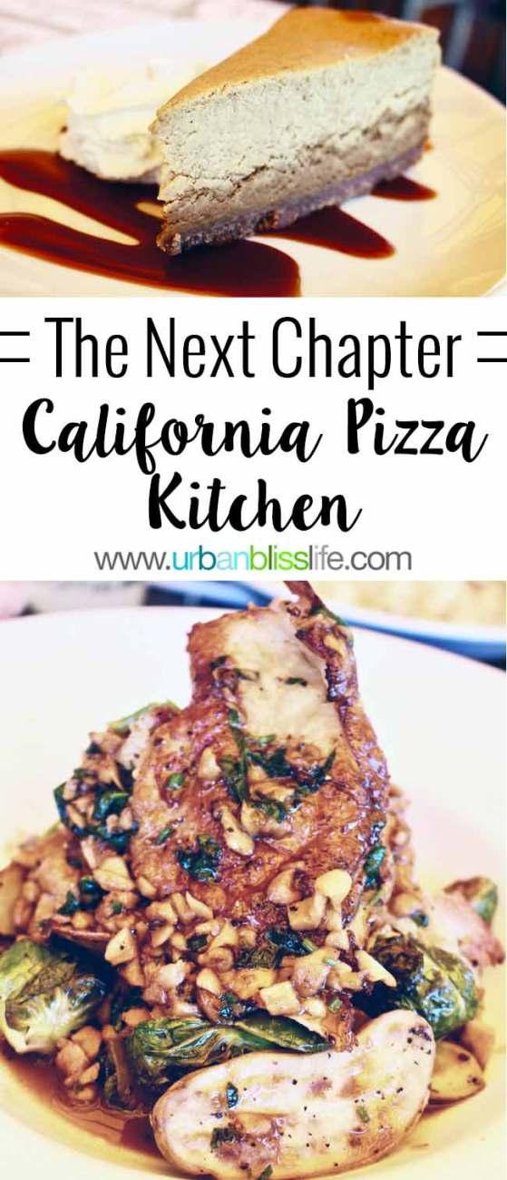 California Pizza Kitchen Launches Next Chapter Menu