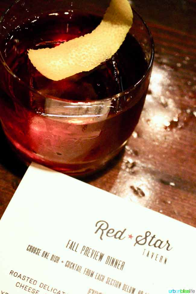Red Star Tavern fall menu features elevated Northwest cuisine. Restaurant review on http://UrbanBlissLife.com