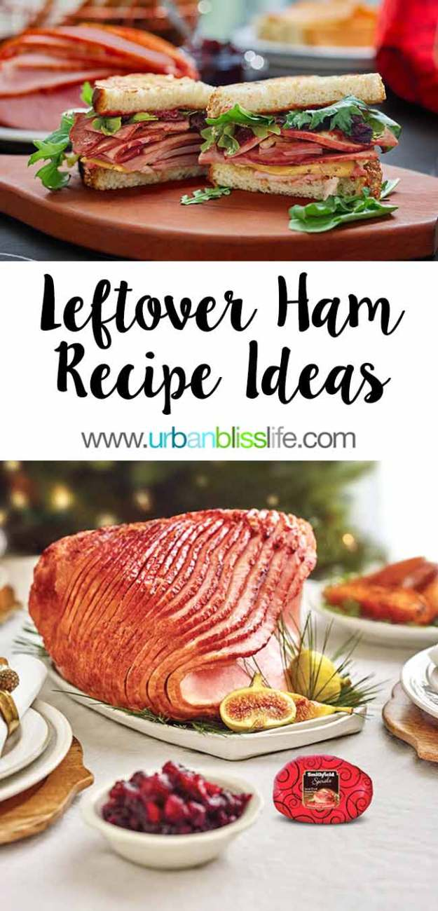 FOOD BLISS: Leftover Holiday Ham Recipe Ideas