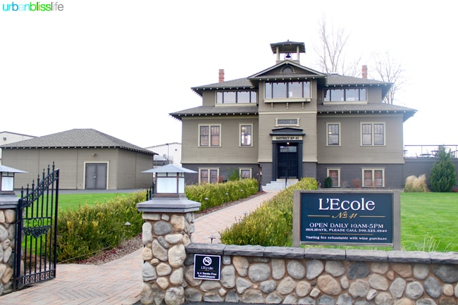 L'Ecole Winery in Walla Walla, Washington wine tasting and tour review on UrbanBlissLife.com