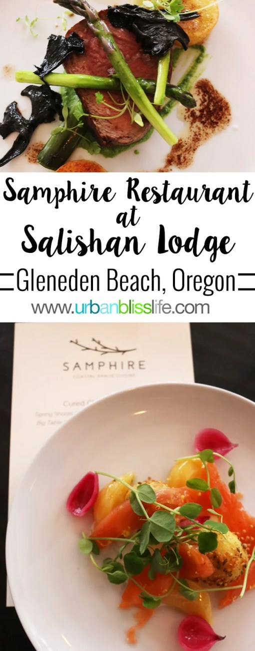 FOOD BLISS: Samphire Restaurant Opens in Salishan Spa & Golf Resort