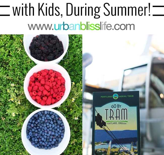 50 Things to Do in Portland, Oregon With Kids During the Summer, travel tips on UrbanBlissLife.com.
