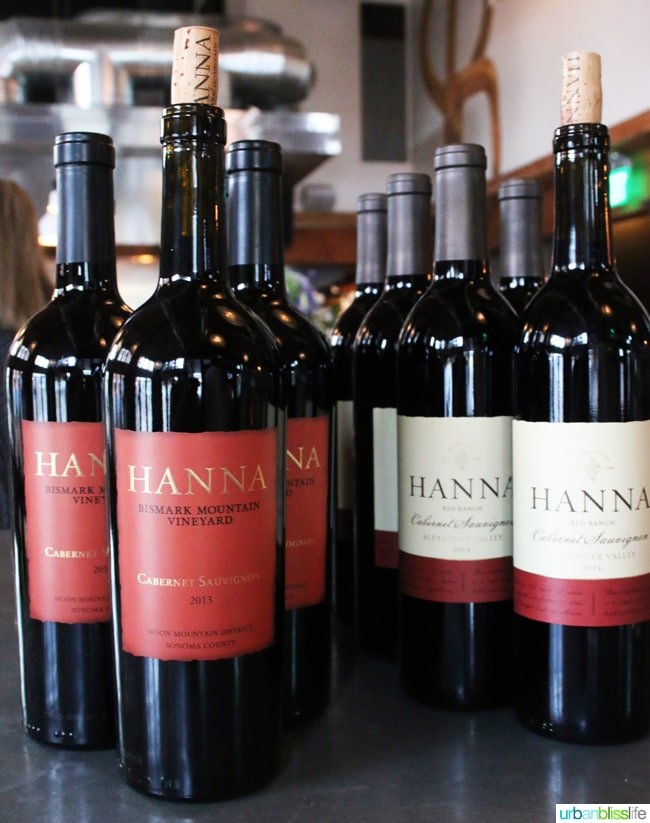 Hanna Winery California Wine Pairing Dinner on UrbanBlissLife.com