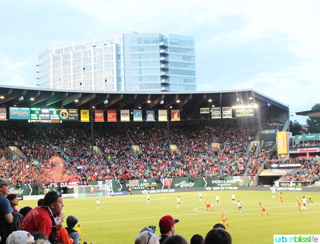50 Things to Do in Portland, Oregon With Kids During the Summer - Portland Thorns, travel tips on UrbanBlissLife.com.