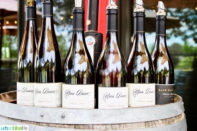 Wine Bliss: Rain Dance Vineyards in Newberg, Oregon