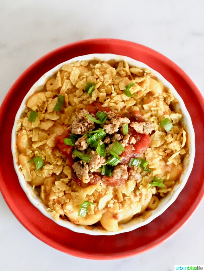 Food Bliss: Taco Mac & Cheese competition recipe