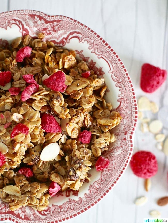 Food Bliss: Brown Butter Almond Protein-Packed Granola