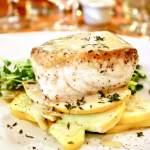 Larks Restaurant fried green tomatoes. Restaurant review on UrbanBlissLife.com