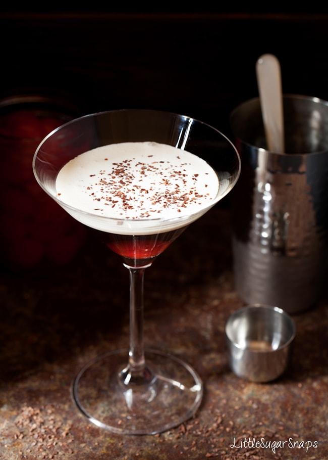Black Forest Martini 20 Festive Winter Party Cocktails on UrbanBlissLife.com