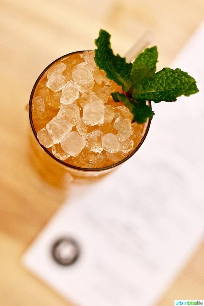 Fairgame Cocktail at Radar restaurant in North Mississippi Ave in Portland, Oregon