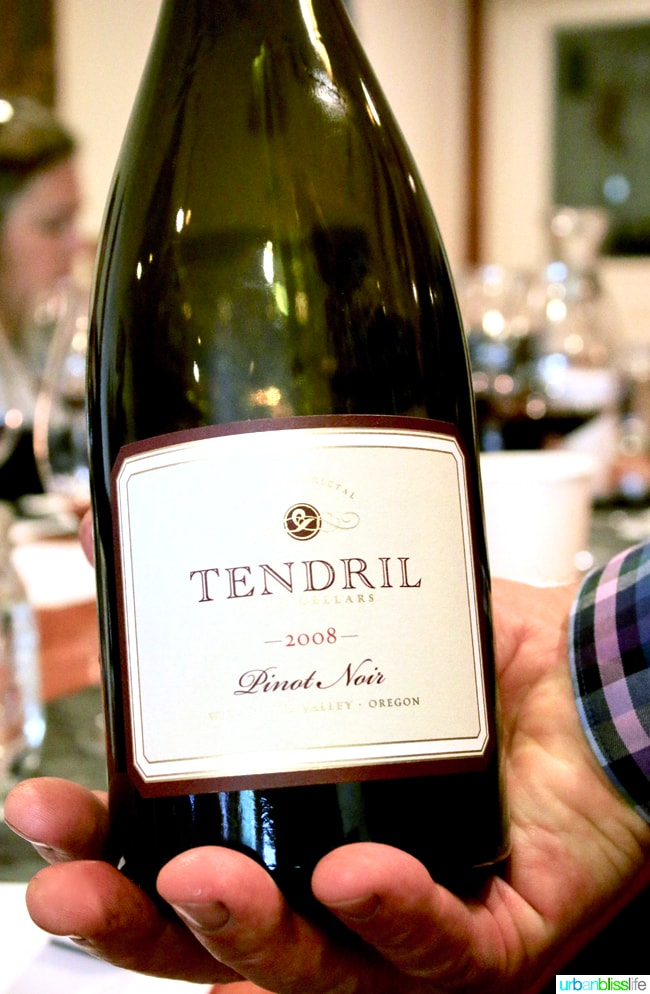 Tendril Wine Cellars (Gaston, Oregon)