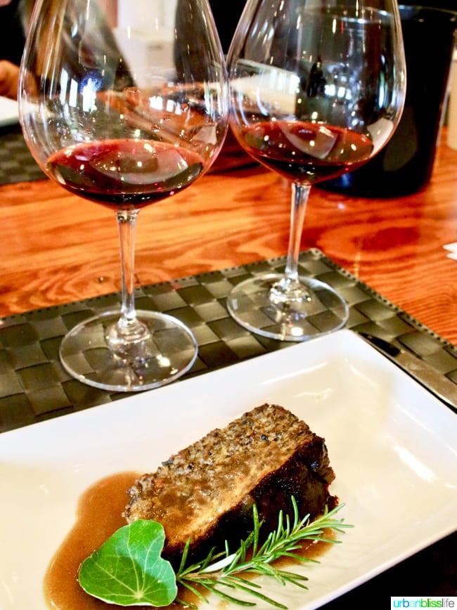 Tendril Wines mushroom tart wine pairing - UrbanBlissLife.com