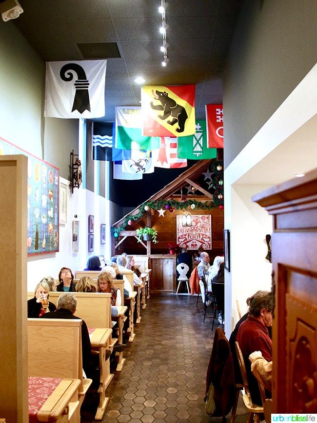 André's Confiserie Suisse in Kansas City. Restaurant review on UrbanBlissLife.com