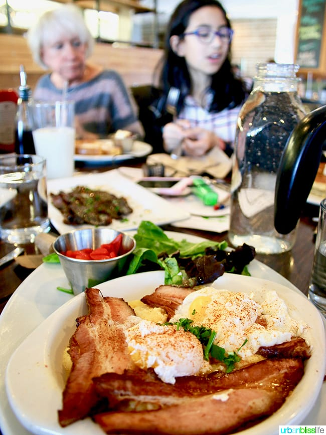 Pork Belly & Grits at First Watch in Shawnee, Kansas on UrbanBlissLife.com