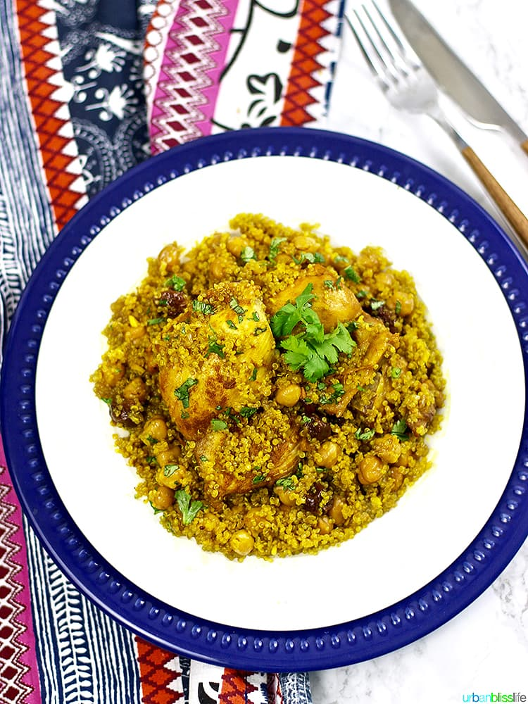 Instant Pot Moroccan Chicken