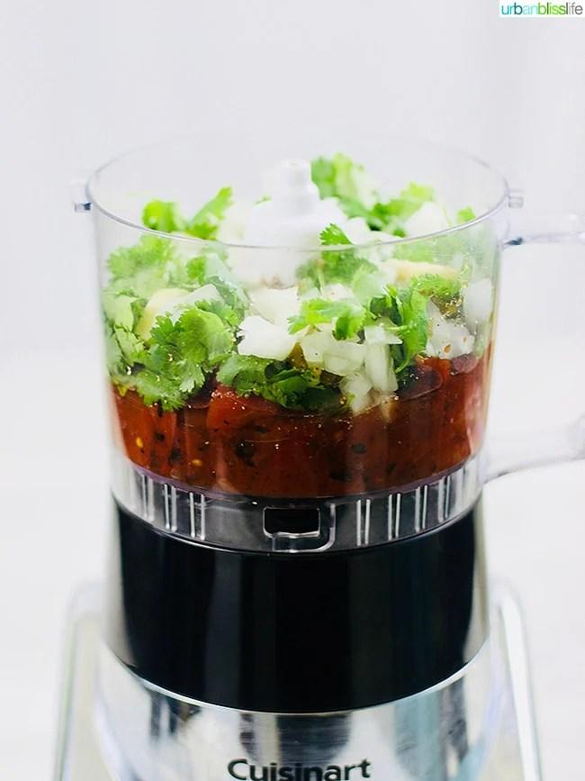 restaurant-style salsa ingredients