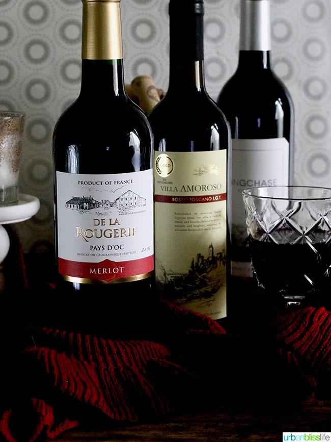 Martha Stewart Wine Co. red wines