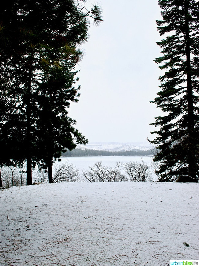 Suttle Lake at Suttle Lodge in Sisters, Oregon