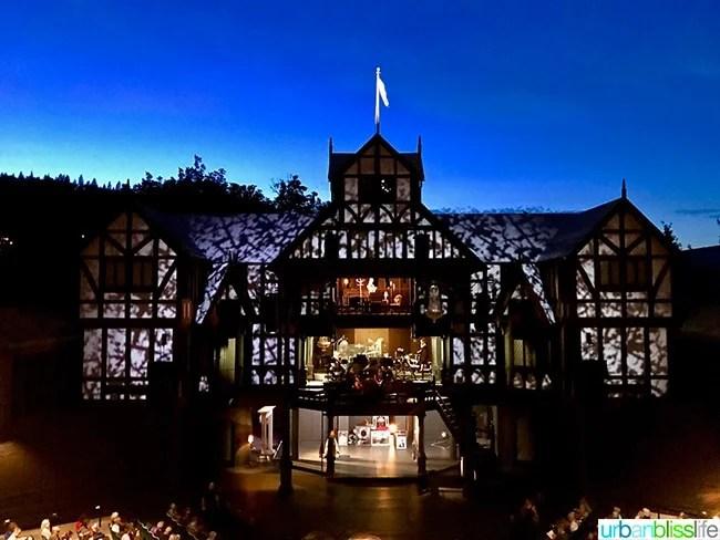 Ashland Oregon Travel Guide - Oregon Shakespeare Festival