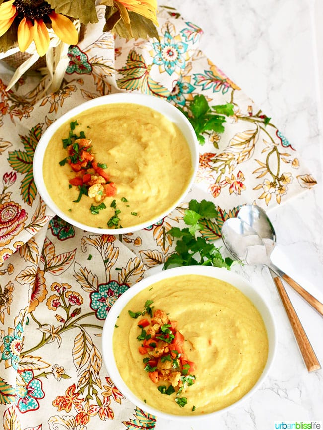 Cauliflower Carrot Soup