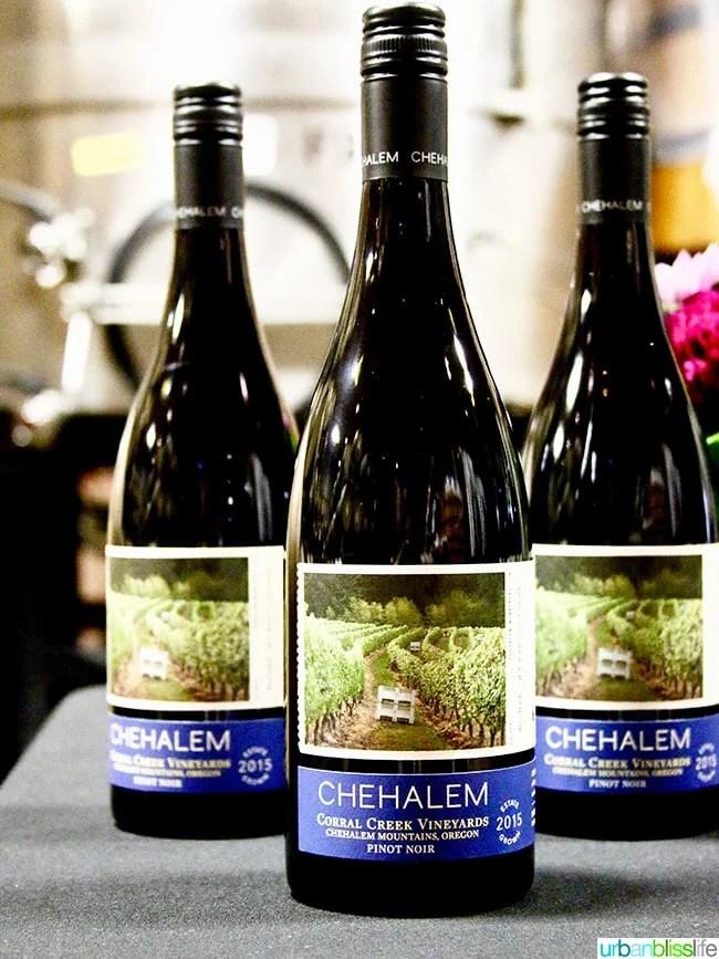 Chehalem Winery wines