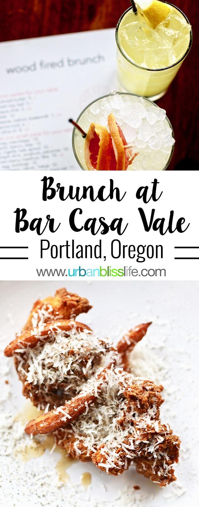 Bar Casa Vale Brunch in Portland, Oregon