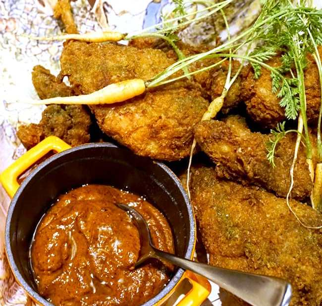 fried rabbit