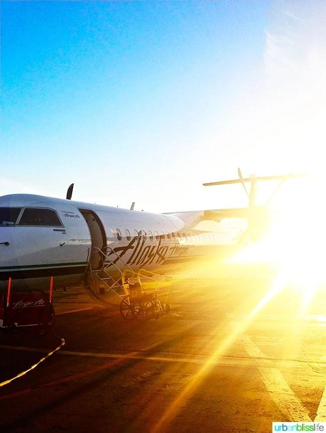 Alaska Airlines Sunset