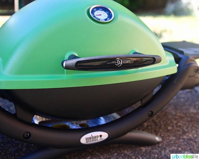 Weber portable grill 1200